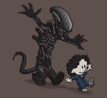 Ripley and alien | Unisex T-Shirt