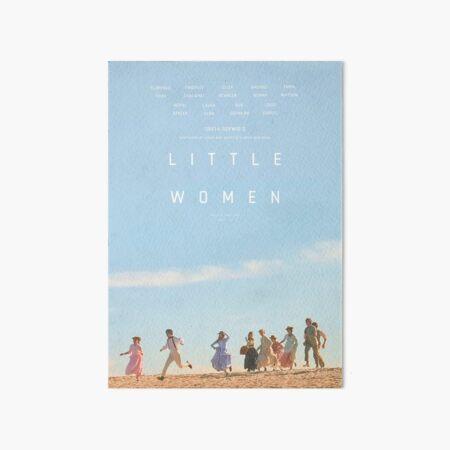 ALTERNATE LITTLE WOMEN (2019) POSTER  Art Board Print
