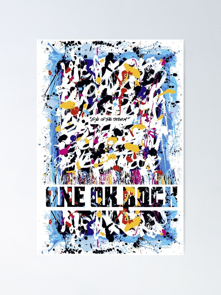 Poster ''One Ok Rock Eye of the Storm': autre vue