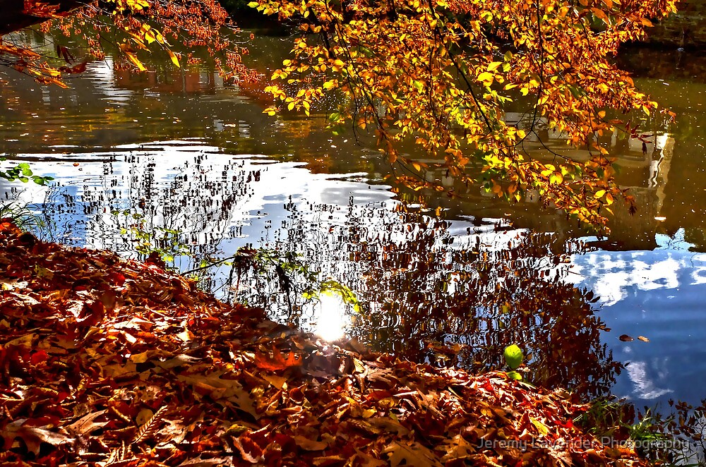 La Vesdre river in Chaudfontaine by Jeremy Lavender Photography