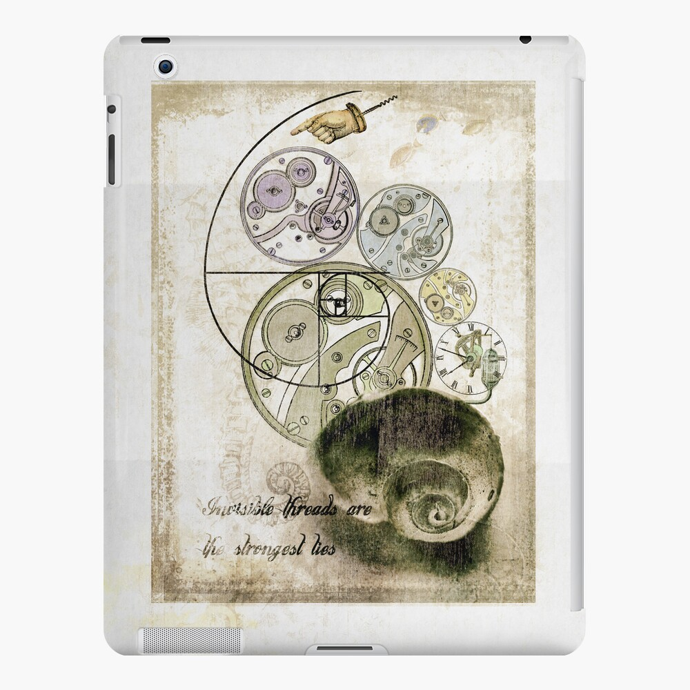 everything's connected iPad Case & Skin