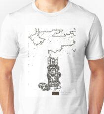 LINE : LINE camera 06 , Rolleiflex 2.8F model Unisex T-Shirt