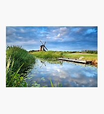 Charming windmill Photographic Print