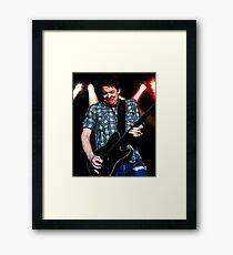 Jonny Lang Blues Guitarist Framed Print
