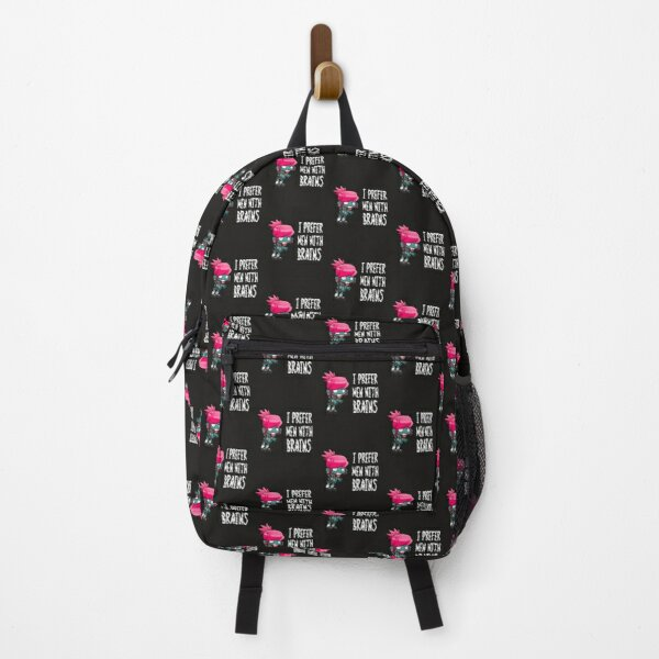 Zombie I Prefer Men With Brains Backpack