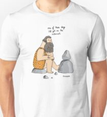 Caveman wishes for the internet T-Shirt
