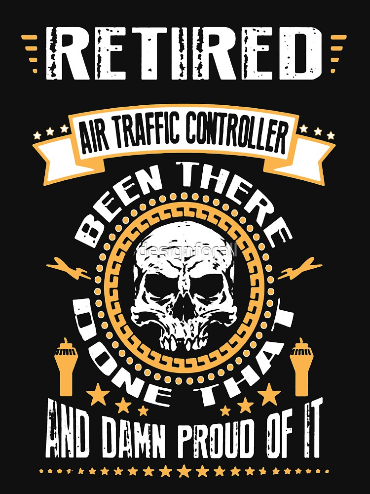 Retired Air Traffic Controller by designforall