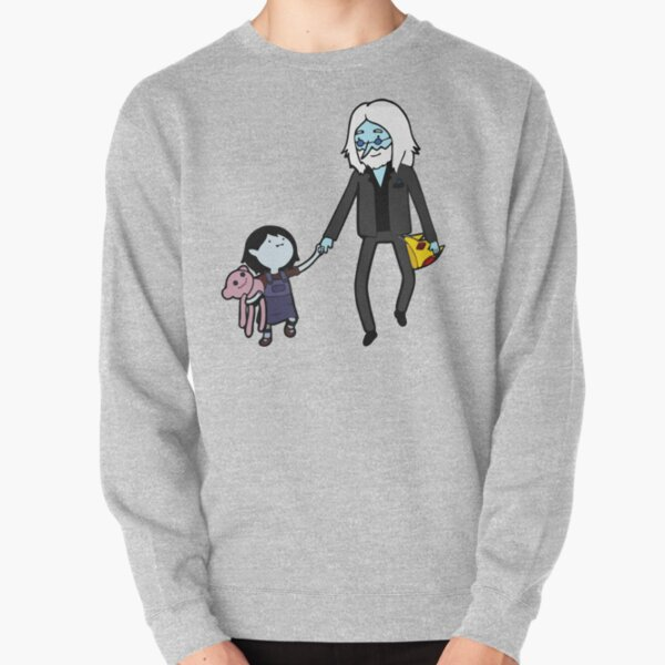 Simon and Marceline hand in hand Pullover Sweatshirt