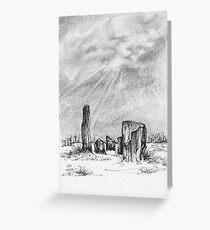 Kealkil Stone Circle Greeting Card
