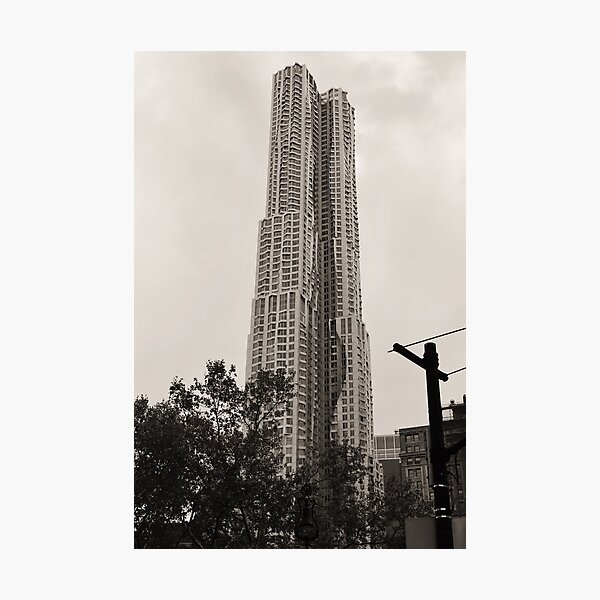New York by Gehry Photographic Print