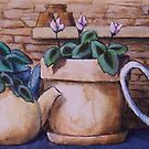 Teapots On Parade by Michael Beckett