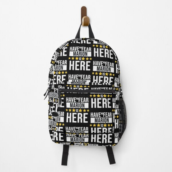 Marion Name -  Have No Fear Marion Is Here Gift For Marion Backpack