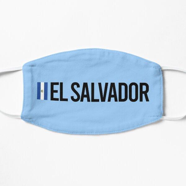 Colección El Salvador Minimal Design Mascarilla plana