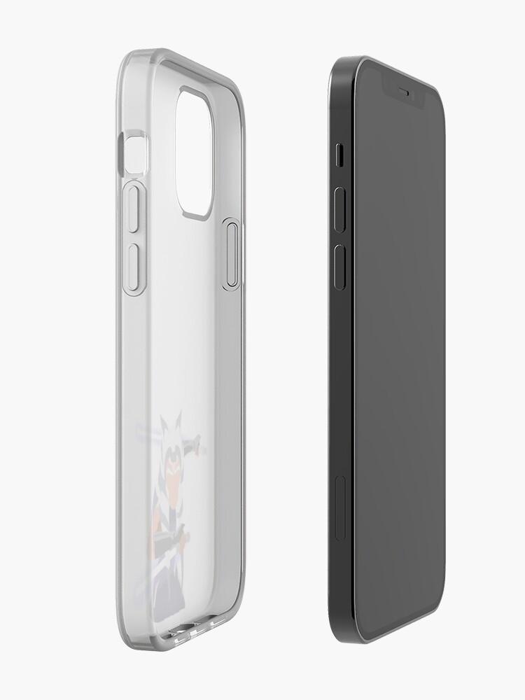 Minimalist Ahsoka Tano Markings Clone Wars Fulcrum Rebels Phone Case iPhone