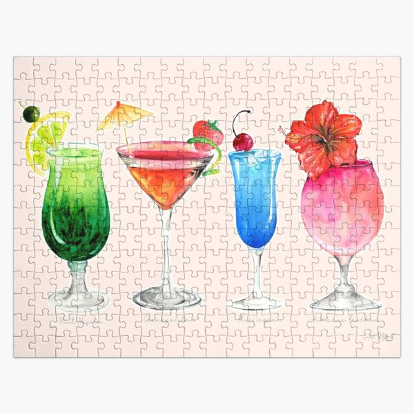 TROPICAL COCKTAILS  Jigsaw Puzzle