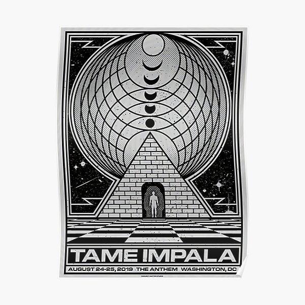 Silver Tame  Washington Poster