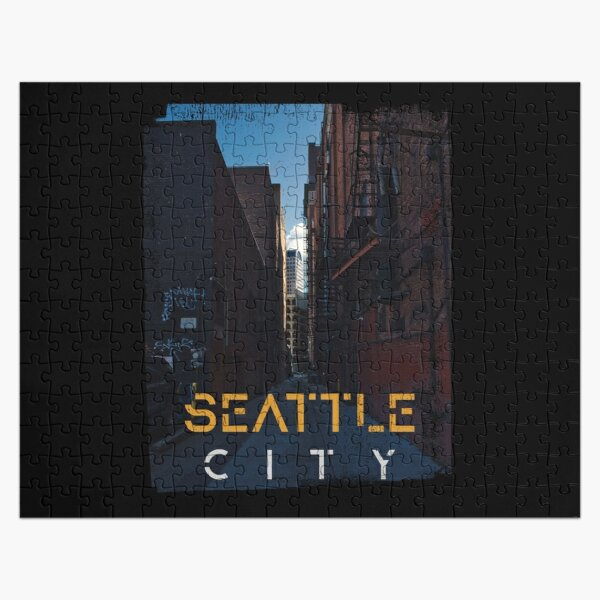 Seattle City Jigsaw Puzzle