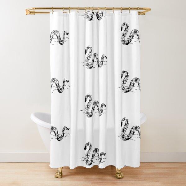 Nessie Mandala Shower Curtain