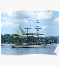 Europa at Opua, Bay of Islands,  New Zealand........! Poster