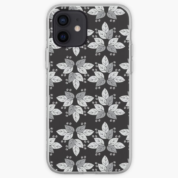 pattern leaves iPhone Soft Case