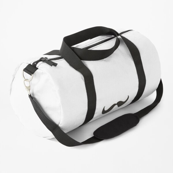 Curly Moustache Duffle Bag