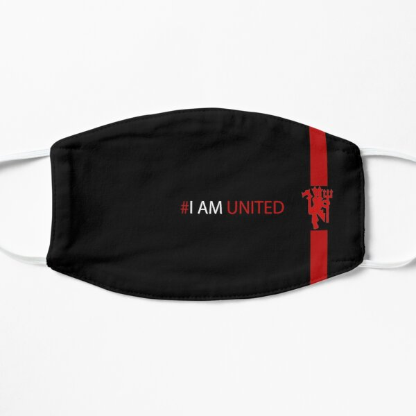 Glory Glory Man United face mask  Flat Mask