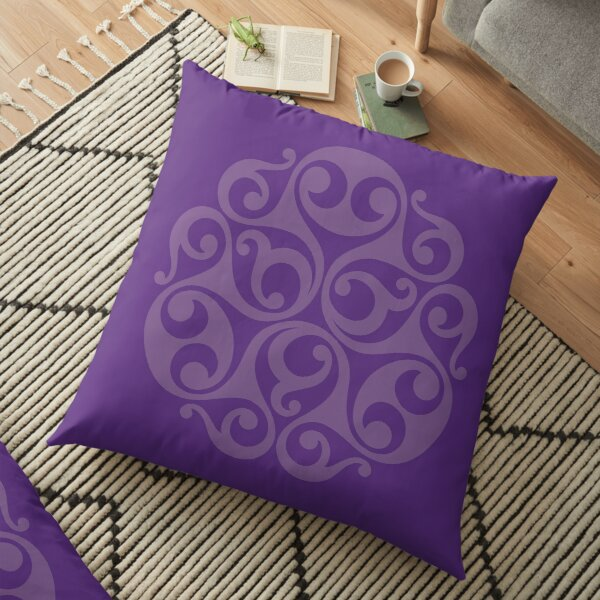 Brentford Horn Cap - Purple Floor Pillow