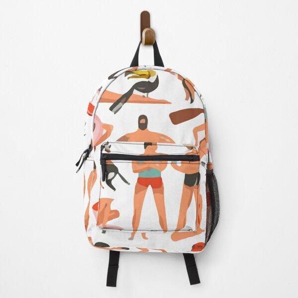 Beach Pattern Backpack