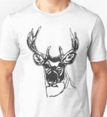 LINEart T-shirt : Big Brother Deer. Unisex T-Shirt