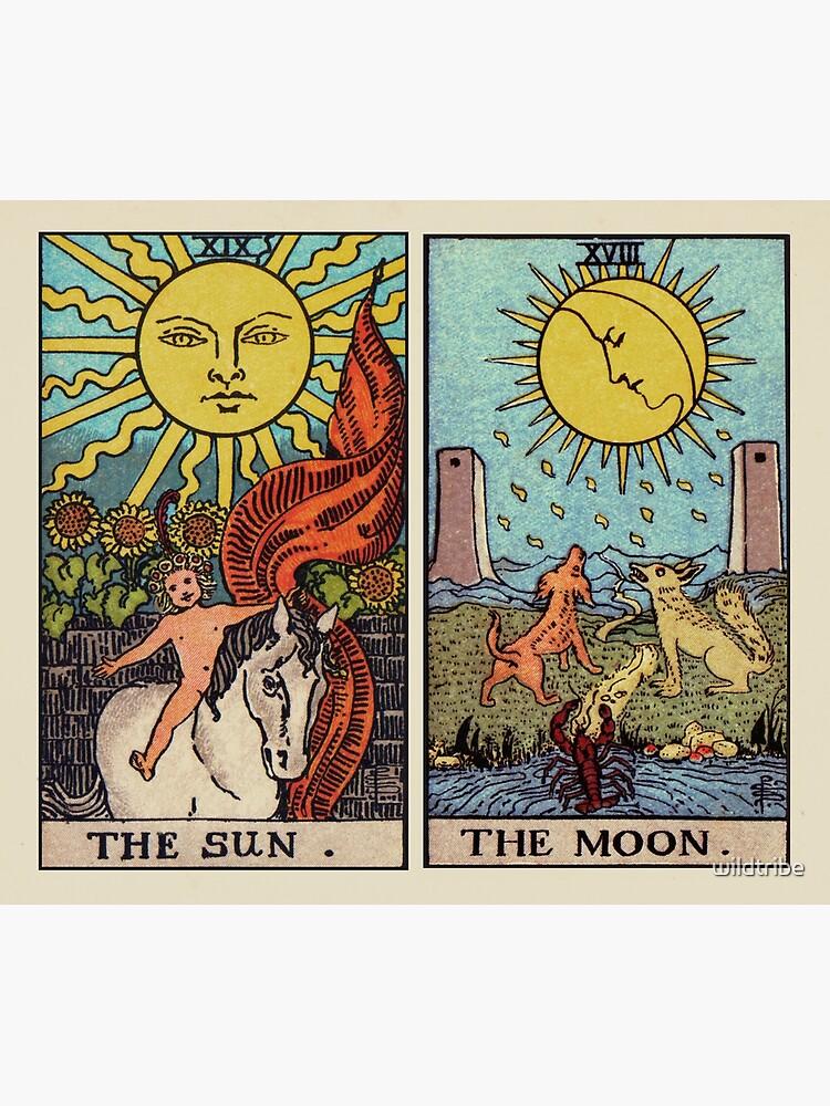 Moon & Sun Tarot | Colour by wildtribe