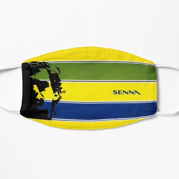 Senna Silhouette - RACE0011 Mask