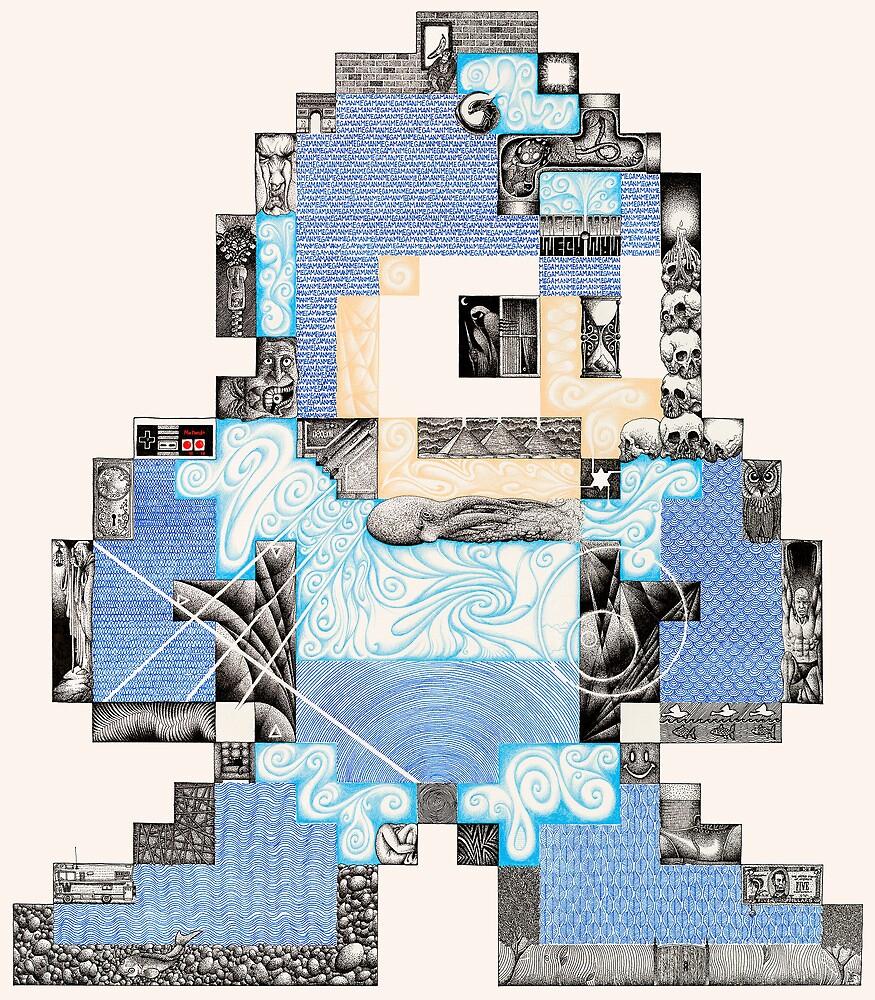 Mega Man by Matan Chaffee