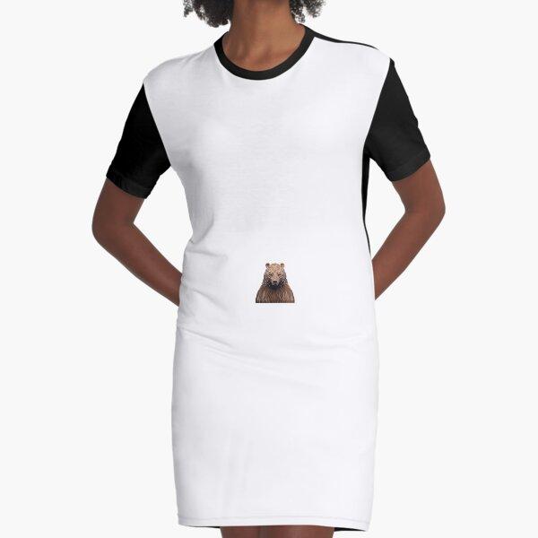 Maxim Shkret bear design Graphic T-Shirt Dress