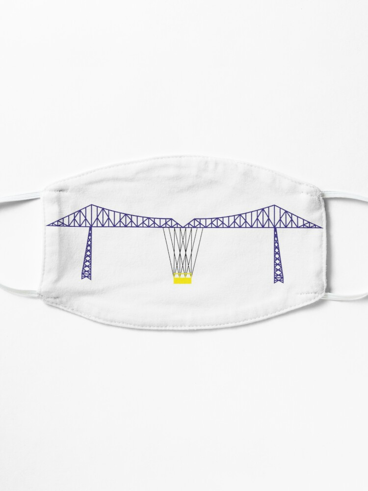 Alternate view of NDVH Tees Transporter Bridge Mask