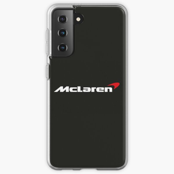 Logotipo de McLaren Racing Funda blanda para Samsung Galaxy