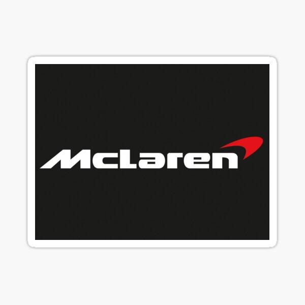 Logo McLaren Racing Sticker