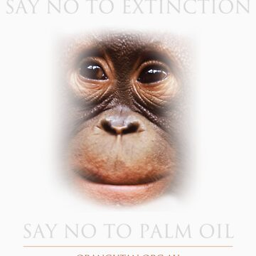 Say No to Extinction by Orangutan