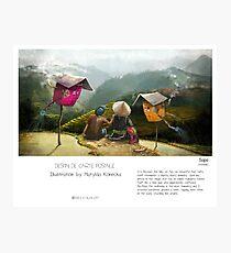 """Sapa"" in words & image (M.Konecka) Photographic Print"