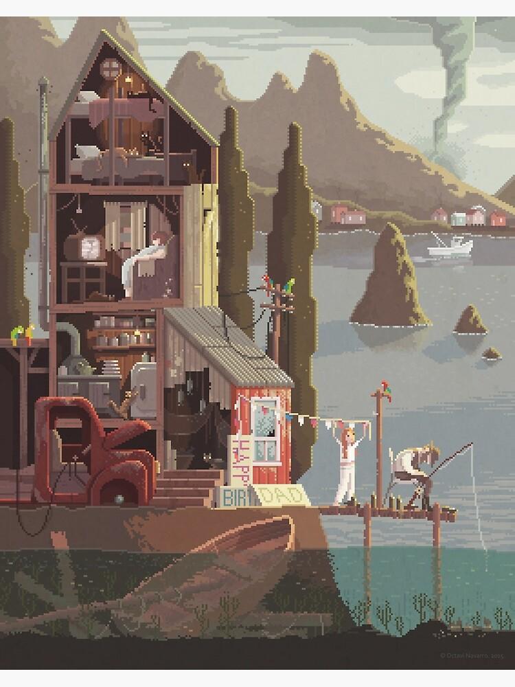 Scene #15: 'The Fisherman's Daughter' by pixelshuh