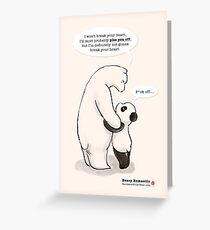 Beary Romantic Greeting Card
