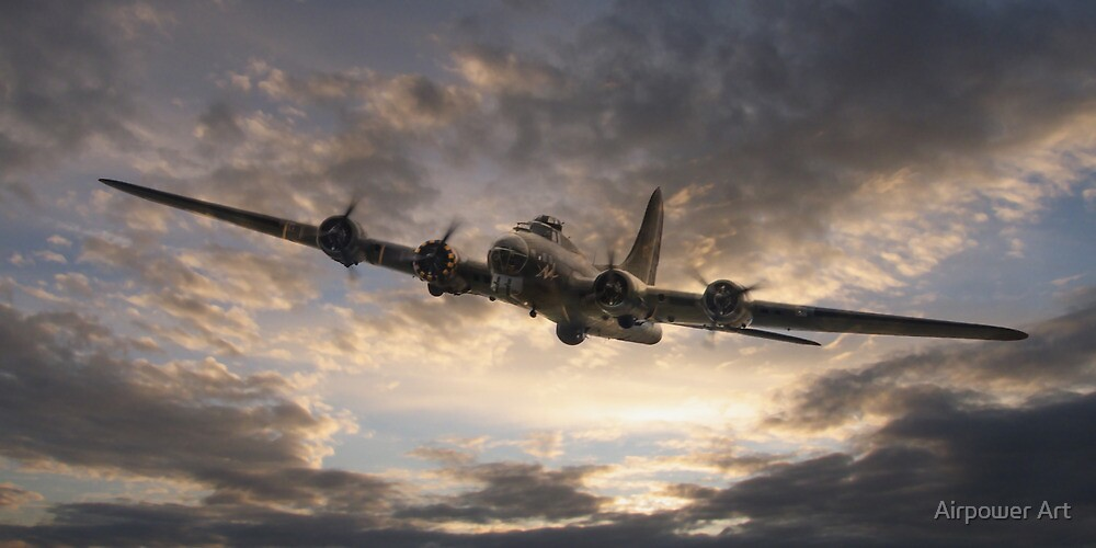 The Flying Fortress by Airpower Art