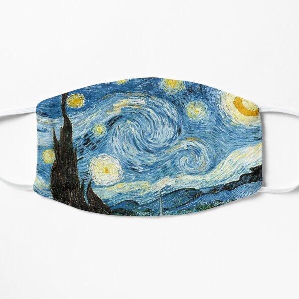 Van Gogh Mask The Starry Night Flat Mask