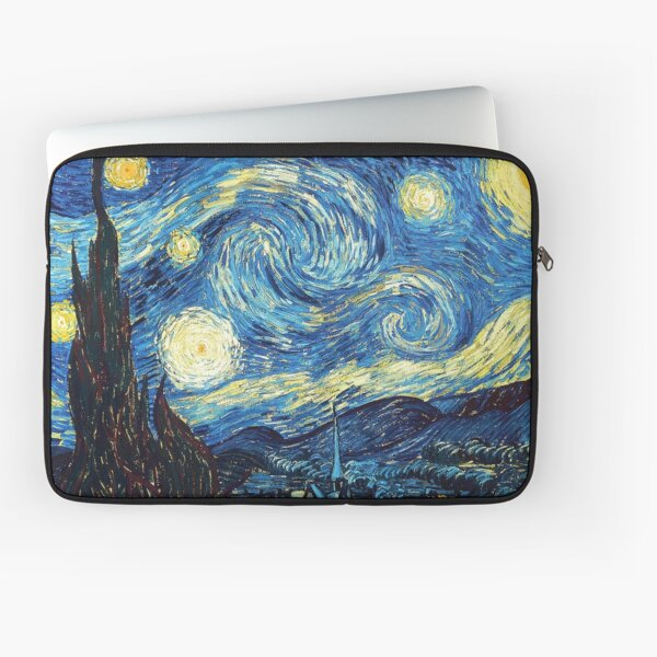 Van Gogh Mask The Starry Night Laptop Sleeve
