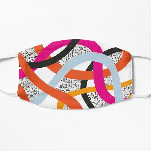 Colourful Curves Flat Mask