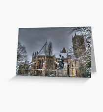 Tennyson and the Cathedral Greeting Card