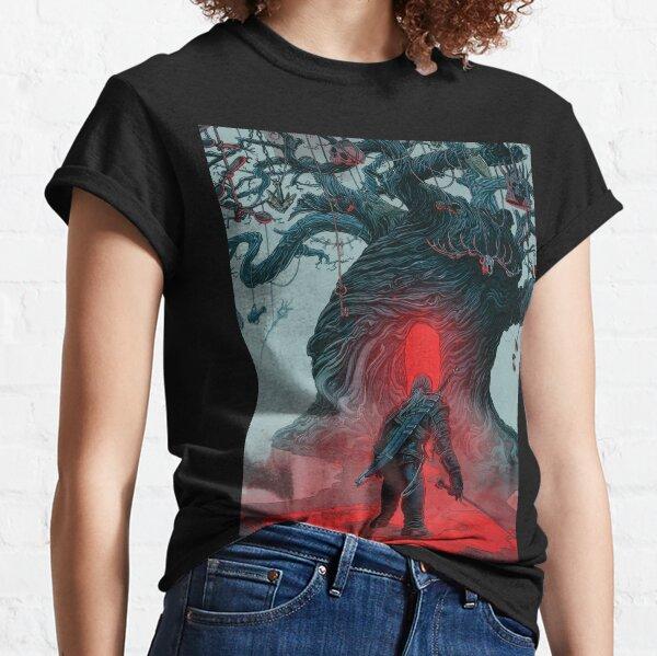 Illustration du jeu The Witcher T-shirt classique