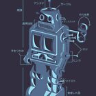 Robot Blueprint by NeleVdM