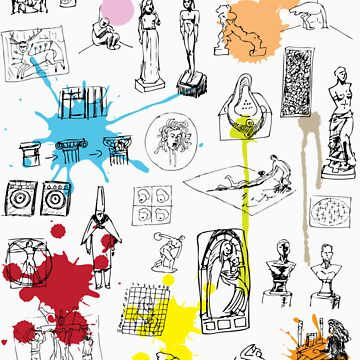 History of Art (w/ paint splashes) by NDVs