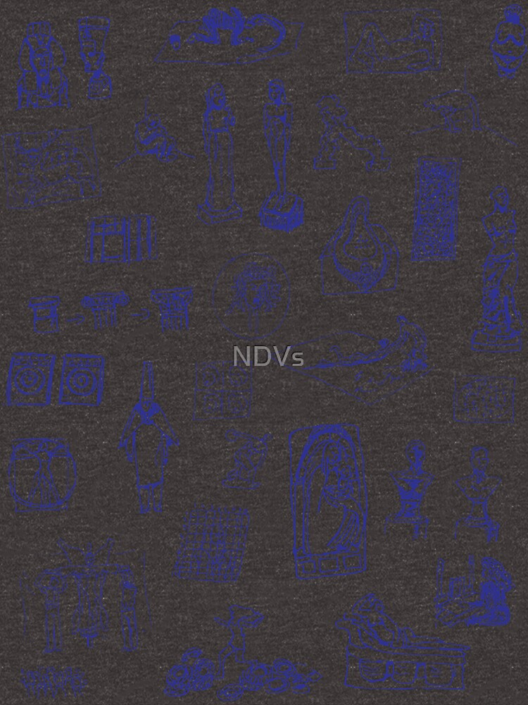 History of Art (blue artlines) by NDVs