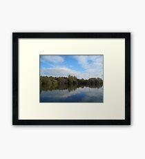 English Countryside Park - UK Framed Print